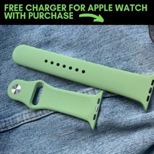Green Band for Apple Watch, 42/44mm (ML)